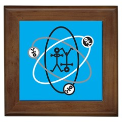 Life Icon  Framed Tiles