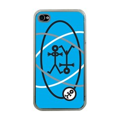 Life Icon  Apple iPhone 4 Case (Clear)