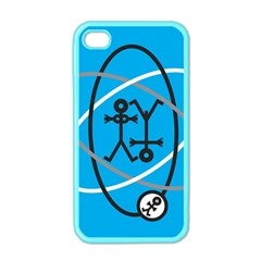 Life Icon  Apple iPhone 4 Case (Color)