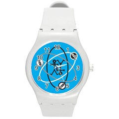 Life Icon  Round Plastic Sport Watch (M)