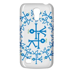 Blue Birds And Olive Branch Circle Icon Galaxy S4 Mini
