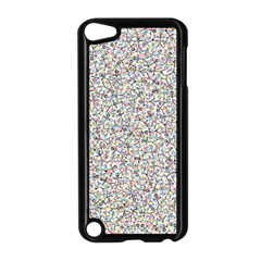 Crowd Icon Random Cmyk Apple Ipod Touch 5 Case (black)