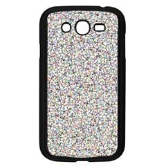 Crowd Icon Random Cmyk Samsung Galaxy Grand DUOS I9082 Case (Black)