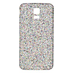 Crowd Icon Random Cmyk Samsung Galaxy S5 Back Case (White)