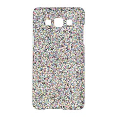 Crowd Icon Random Cmyk Samsung Galaxy A5 Hardshell Case