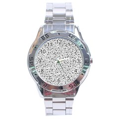 Crowd Icon Random Stainless Steel Men s Watch