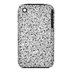 Crowd Icon Random Apple iPhone 3G/3GS Hardshell Case (PC+Silicone)