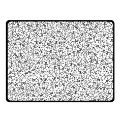 Crowd Icon Random Double Sided Fleece Blanket (Small)