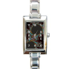 Dream In Fract Rectangle Italian Charm Watches