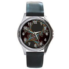 Dream in Fract Round Metal Watches
