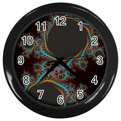 Dream in Fract Wall Clocks (Black)