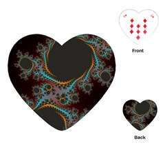 Dream in Fract Playing Cards (Heart)