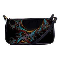 Dream In Fract Shoulder Clutch Bags
