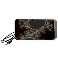 Dream In Fract Portable Speaker (black)