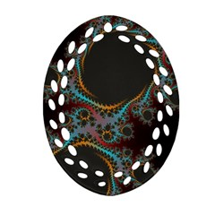 Dream in Fract Ornament (Oval Filigree)