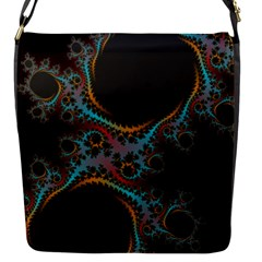 Dream In Fract Flap Messenger Bag (s)