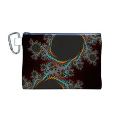 Dream In Fract Canvas Cosmetic Bag (m)