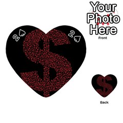 Dollar People Icon Playing Cards 54 (Heart)