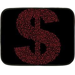 Dollar People Icon Fleece Blanket (Mini)