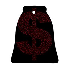 Dollar People Icon Bell Ornament (2 Sides)
