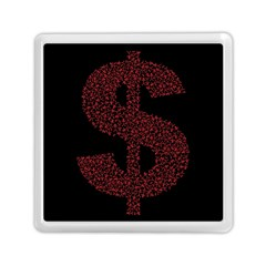 Dollar People Icon Memory Card Reader (Square)