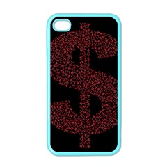Dollar People Icon Apple iPhone 4 Case (Color)