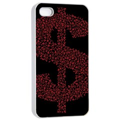 Dollar People Icon Apple iPhone 4/4s Seamless Case (White)
