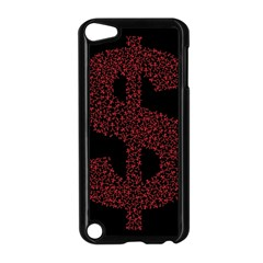 Dollar People Icon Apple iPod Touch 5 Case (Black)