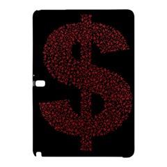 Dollar People Icon Samsung Galaxy Tab Pro 10.1 Hardshell Case
