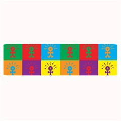 Multi Coloured Lots Of Angry Babies Icon Large Bar Mats