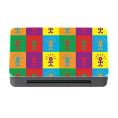 Multi Coloured Lots Of Angry Babies Icon Memory Card Reader With Cf