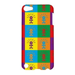 Multi Coloured Lots Of Angry Babies Icon Apple iPod Touch 5 Hardshell Case