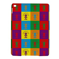 Multi Coloured Lots Of Angry Babies Icon iPad Air 2 Hardshell Cases