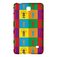 Multi Coloured Lots Of Angry Babies Icon Samsung Galaxy Tab 4 (7 ) Hardshell Case