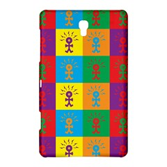 Multi Coloured Lots Of Angry Babies Icon Samsung Galaxy Tab S (8 4 ) Hardshell Case