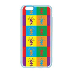 Multi Coloured Lots Of Angry Babies Icon Apple Seamless iPhone 6/6S Case (Color)