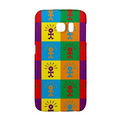 Multi Coloured Lots Of Angry Babies Icon Galaxy S6 Edge