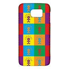 Multi Coloured Lots Of Angry Babies Icon Galaxy S6