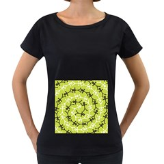 Spiral Icon Women s Loose-Fit T-Shirt (Black)