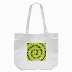 Spiral Icon Tote Bag (White)