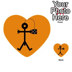 Video Gaming Icon Multi-purpose Cards (Heart)