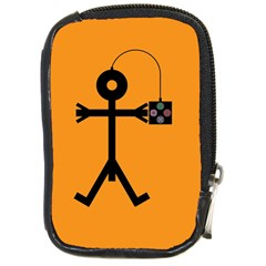 Video Gaming Icon Compact Camera Cases