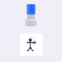 Video Gaming Icon Rubber Round Stamps (Small)
