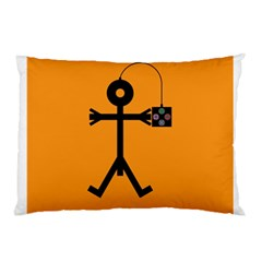Video Gaming Icon Pillow Cases (two Sides)