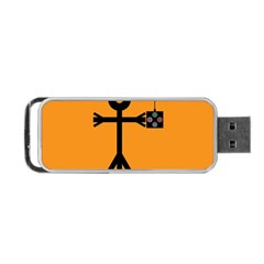 Video Gaming Icon Portable USB Flash (One Side)