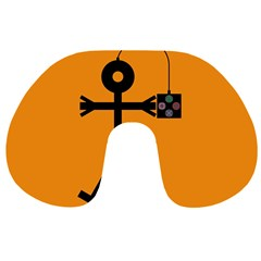 Video Gaming Icon Travel Neck Pillows
