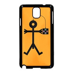 Video Gaming Icon Samsung Galaxy Note 3 Neo Hardshell Case (Black)
