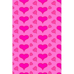 Hearts Pink 5.5  x 8.5  Notebooks