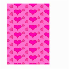 Hearts Pink Large Garden Flag (two Sides)