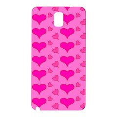 Hearts Pink Samsung Galaxy Note 3 N9005 Hardshell Back Case
